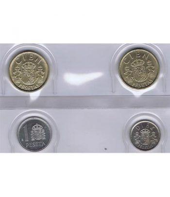 Juan Carlos serie de monedas año 1985. SC  - 1