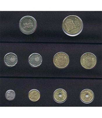 Juan Carlos serie de monedas año 1990. SC  - 1