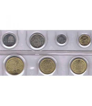 Juan Carlos serie de monedas año 1989. SC  - 1