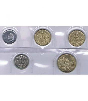 Juan Carlos serie de monedas año 1988. SC  - 1