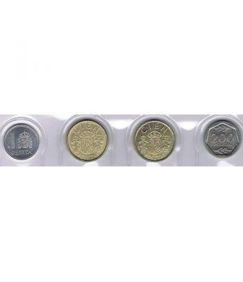 Juan Carlos serie de monedas año 1986. SC  - 1
