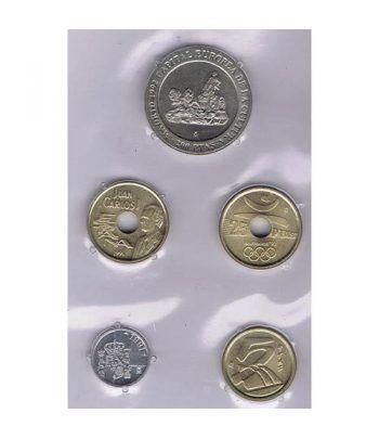 Juan Carlos serie de monedas año 1991. SC  - 1