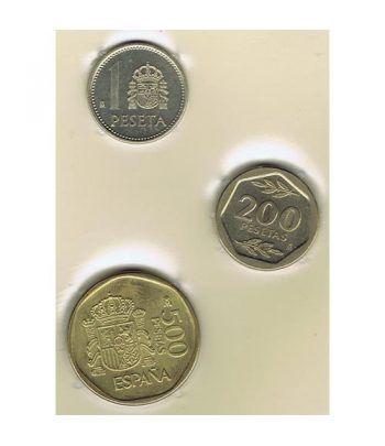 Juan Carlos serie de monedas año 1987. SC  - 1