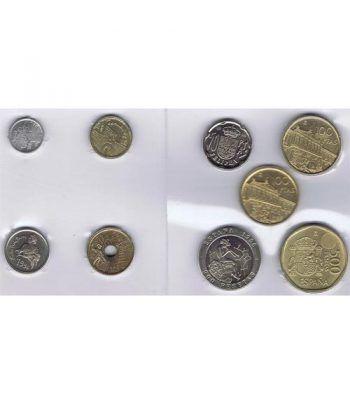 Juan Carlos serie de monedas año 1996. SC  - 1