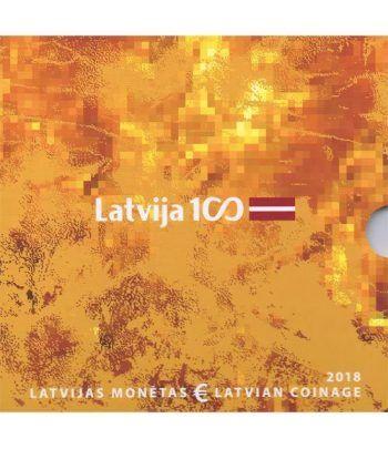 Cartera oficial euroset Letonia 2018  - 1