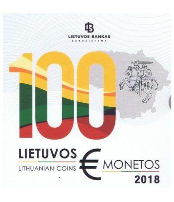 Cartera oficial euroset Lituania 2018.  - 1