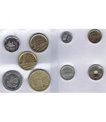 Juan Carlos serie de monedas año 1995. SC  - 2
