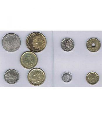 Juan Carlos serie de monedas año 1995. SC  - 4