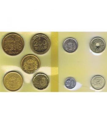 Juan Carlos serie de monedas año 2000. SC  - 1