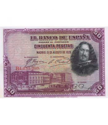 (1928/15/08) Madrid 50 Pesetas SC.  - 2