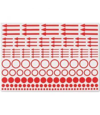 LEUCHTTURM Etiquetas de marcado puntos, círculos y flechas x10.  - 2