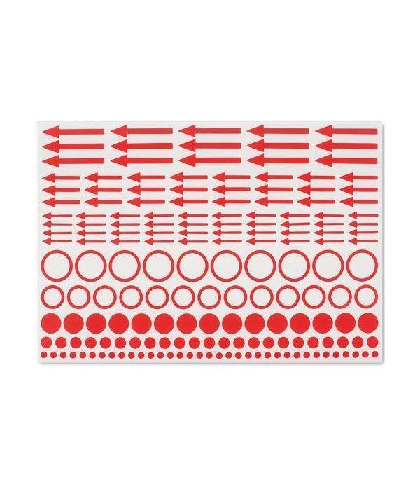 LEUCHTTURM Etiquetas de marcado puntos, círculos y flechas x10.  - 1