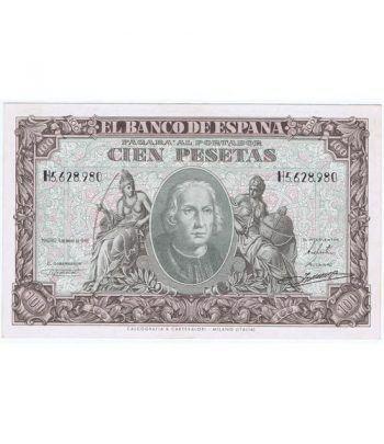 (1940/01/09) Madrid. 100 Pesetas. EBC.  - 2
