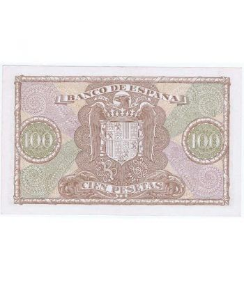 (1940/01/09) Madrid. 100 Pesetas. EBC.  - 4