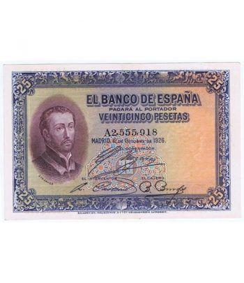 (1926/12/10) Madrid 25 Pesetas EBC. Serie A 2555918  - 1