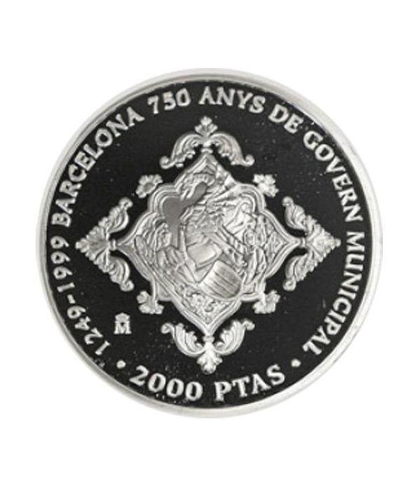 2000 Pesetas 1999 750 A. Gobierno Municipal de Barcelona.  - 1