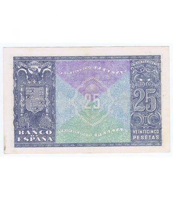 (1940/01/09) Madrid. 25 Pesetas. EBC+. Serie A4647830  - 4