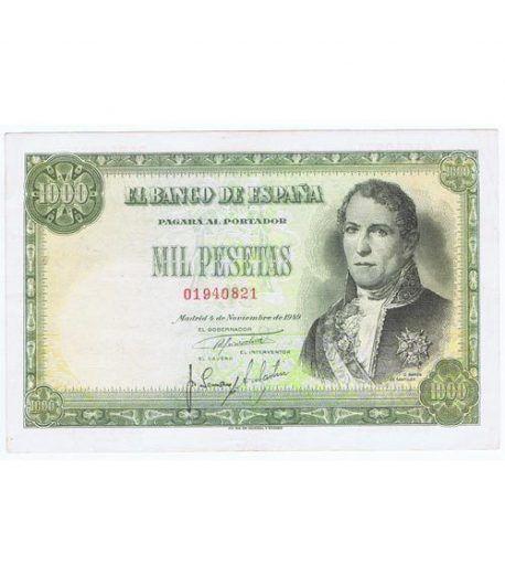 (1949/11/04) Madrid. 1000 Pesetas. EBC. Serie 01940821  - 1