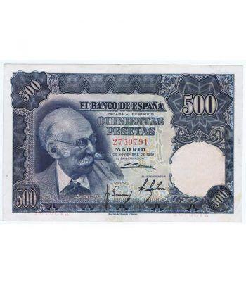 (1951/11/15) Madrid. 500 Pesetas. EBC+. Sin Serie 2750791  - 1