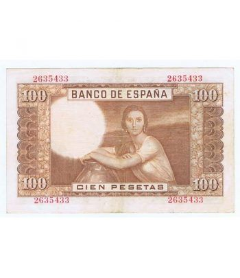(1953/04/07) Madrid. 100 Pesetas. MBC+. Sin Serie 2635433  - 4