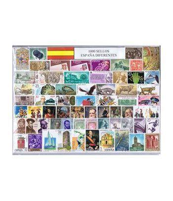 1.000 Sellos usados de España  - 2