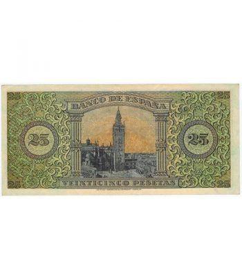 (1938/05/20) Burgos. 25 Pesetas. EBC+. Serie D4776704  - 4