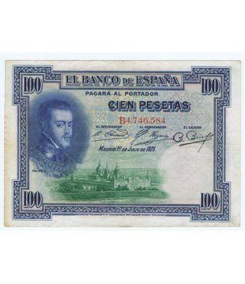 (1925/01/07) Madrid 100 Pesetas MBC  - 2