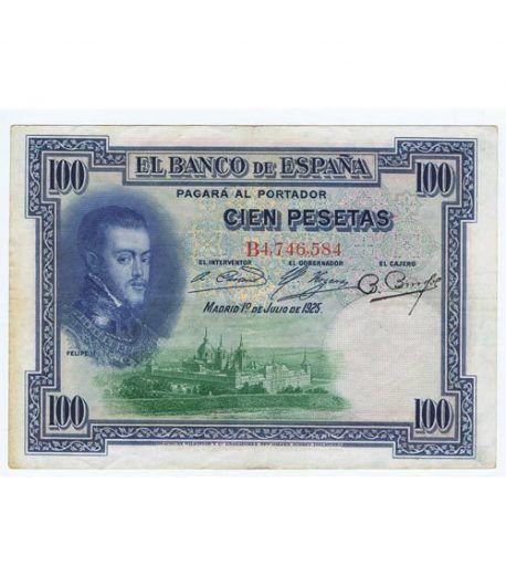 (1925/01/07) Madrid 100 Pesetas MBC  - 1