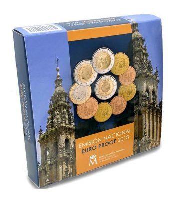 Cartera oficial euroset España 2018 Proof.  - 1