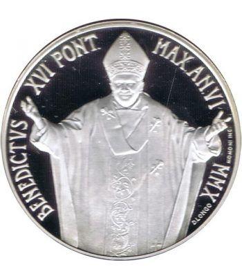 Vaticano 5 euros 2010. 96ª Jornada Mundial Refugiado. Plata.  - 2