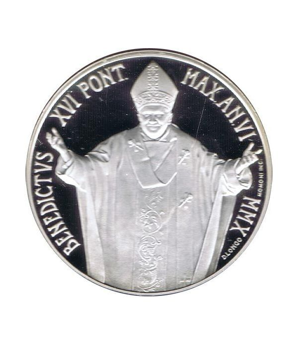 Vaticano 5 euros 2010. 96ª Jornada Mundial Refugiado. Plata.  - 1