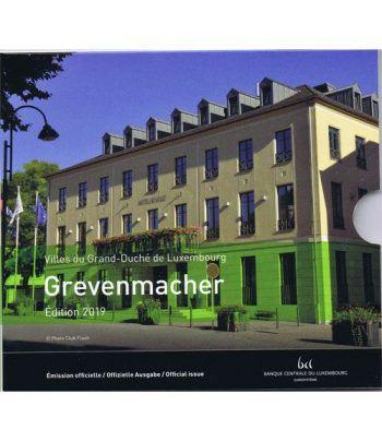 Cartera oficial euroset Luxemburgo 2018 (incluye 2€ conmemorat).  - 1