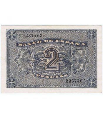 (1938/04/30) Burgos. 2 Pesetas. EBC+. Serie E2237463  - 4