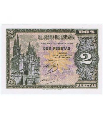 (1938/04/30) Burgos. 2 Pesetas. SC. Serie C2834073  - 1
