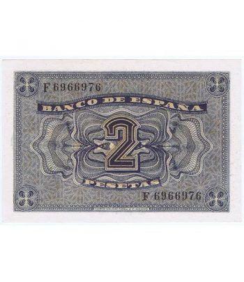 (1938/04/30) Burgos. 2 Pesetas. SC. Serie F6966976  - 4