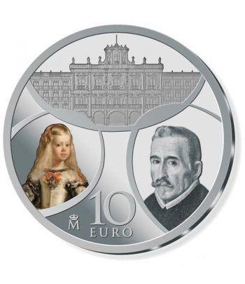 Moneda 2018 Europa. Barroco y Rococó. 10 euros. Plata  - 1