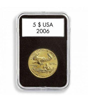 LEUCHTTURM Capsulas QUICKSLAB 28 mm. (5). Capsulas Monedas - 2