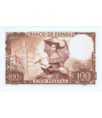 (1965/11/19) Madrid. 100 Pesetas. SC. Sin Serie 1211528  - 4