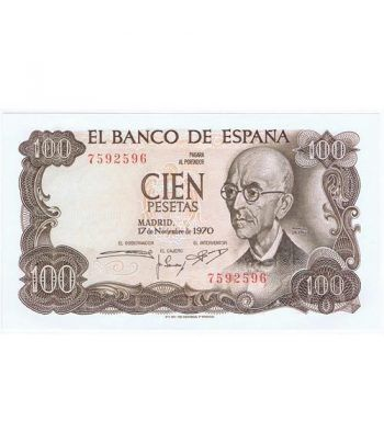 (1970/11/17) Madrid. 100 Pesetas. SC. Sin Serie 7592596  - 2