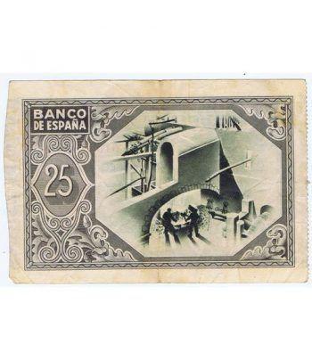 (1937/01/01) Bilbao. 25 Pesetas. MBC-. Serie 515678  - 4