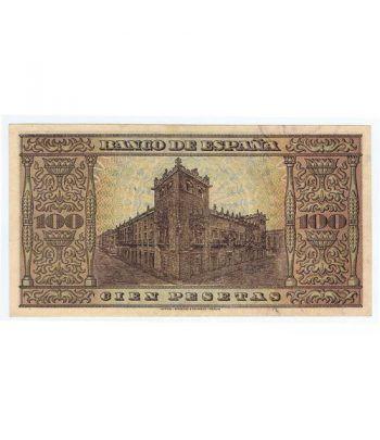 (1938/05/20) Burgos. 100 Pesetas. EBC+. Serie A8730722  - 4