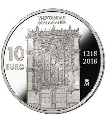 Moneda 2018 Universidad Salamanca. 10 euros. Plata.  - 1
