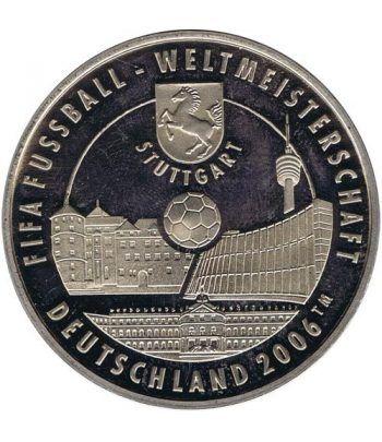 Medalla de plata Alemania FIFA 2006  - 1