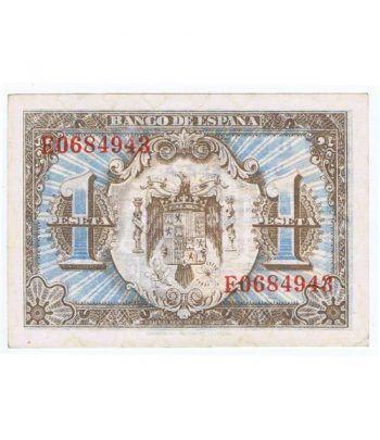 (1940/06/01) Madrid. 1 Peseta. SC. Serie E0684943  - 2