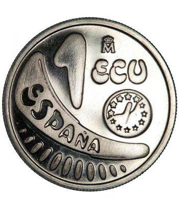 1 ECU. Comunidad Económica Europea 1989  - 2