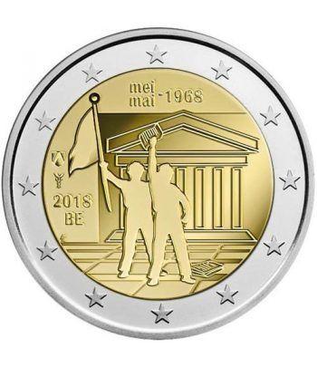 moneda conmemorativa 2 euros Belgica 2018 Mayo 68.  - 2