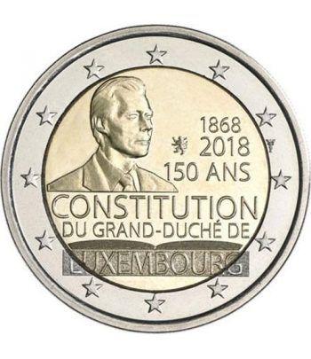 moneda conmemorativa 2 euros Luxemburgo 2018 Constitución  - 2