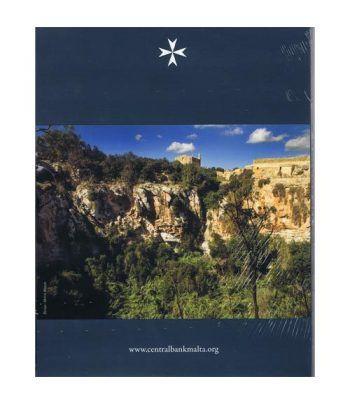 Cartera oficial euroset Malta 2018. Incluye 2€ conmemorativos  - 4
