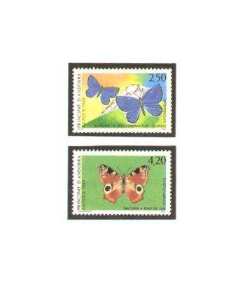 453/454 Proteccion de la Naturaleza. Mariposas  - 2