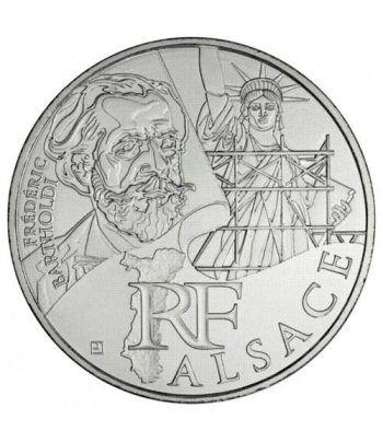 Francia 10 € 2012 Les Euros des Regions. Alsace.  - 1
